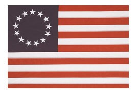 3 x 5' Bulldog Betsy Ross Flag  ** Shipping week of 8/17 **