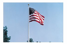 Fiberglass Flagpoles for Sale | Perfect for School or Buildings