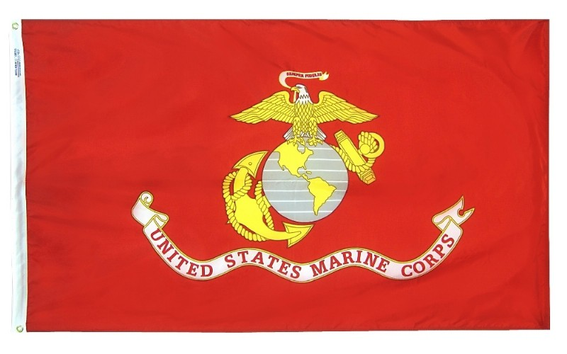 3 x 5' Poly-Max US Marine Flag