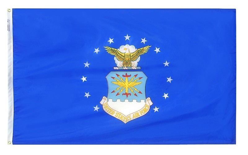 "12 x 18"" Nyl-Glo US Air Force Flag"
