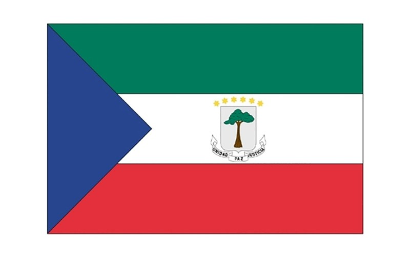 3 x 5' Equatorial Guinea Civil Flag