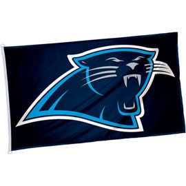 new product 27835 c9a99 3 x 5' Carolina Panthers Flag