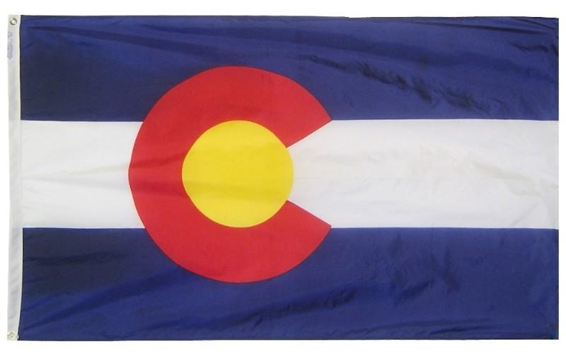 Buy 3 x 5\' Colorado Flag and Mounting Set | Flag Store USA