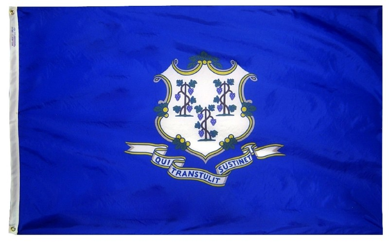 4 x 6' Poly-Max Connecticut Flag