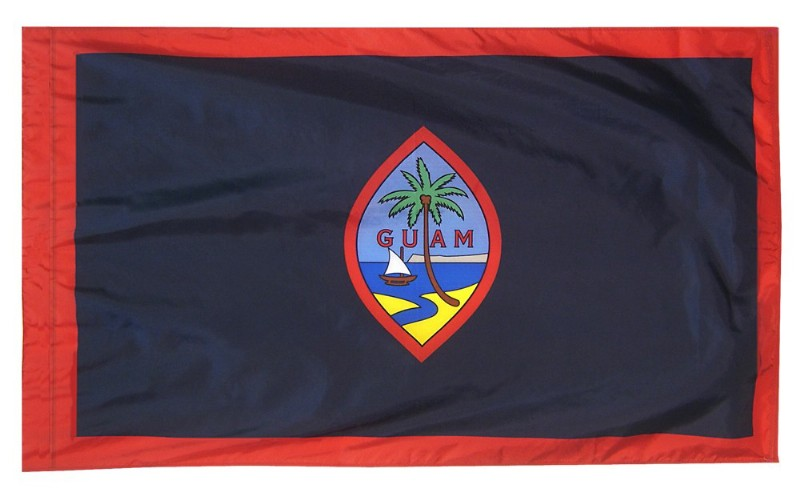 4 x 6' Guam Flag and Mounting Set