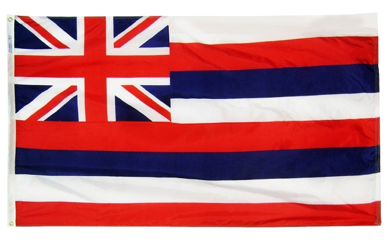 4 x 6' Nyl-Glo Hawaii Flag