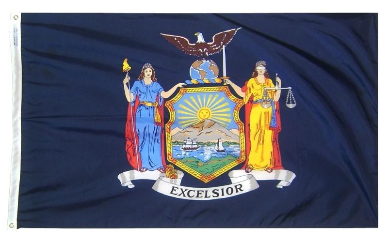 Buy 4 X 6 New York Flag And Mounting Set Flag Store Usa