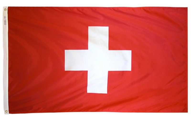 2 x 3' Switzerland Flag