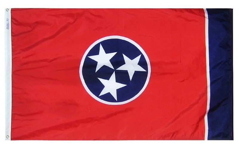 "12 x 18"" Nyl-Glo Tennessee Flag"