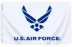 3x5' Nyl-Glo US Air Force Logo Flag ** On Backorder Until 10/15/20 **
